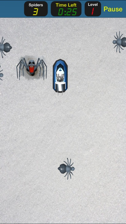 Ice Spiders Attack