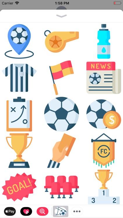 Futbol Stickers