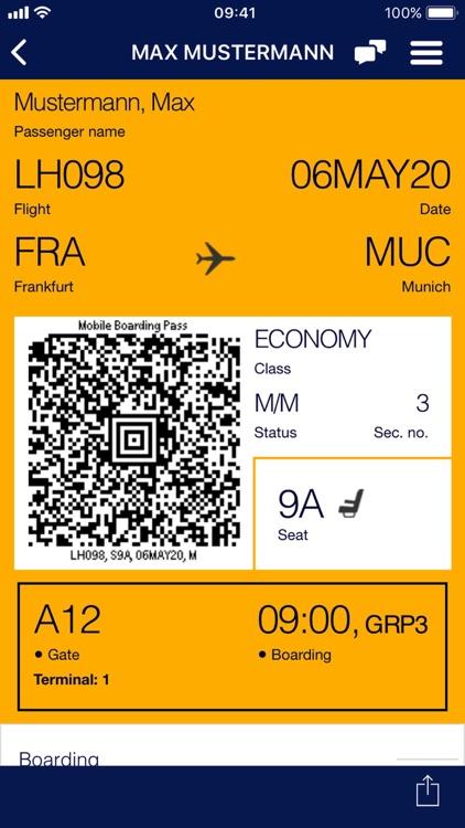 Lufthansa screenshot-5