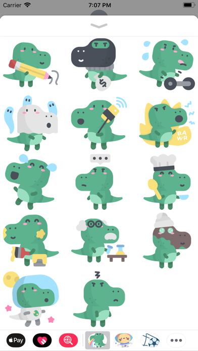点击获取Cute Dinosaur Stickers