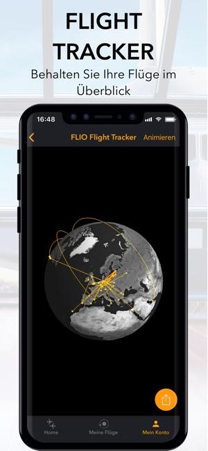 FLIO - globale Flughafen App Screenshot