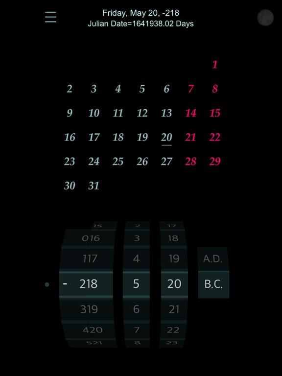 Calendar : 4500 BC to 4500 AD screenshot 14