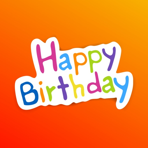 Happy Birthday Wish For Friend App Logo