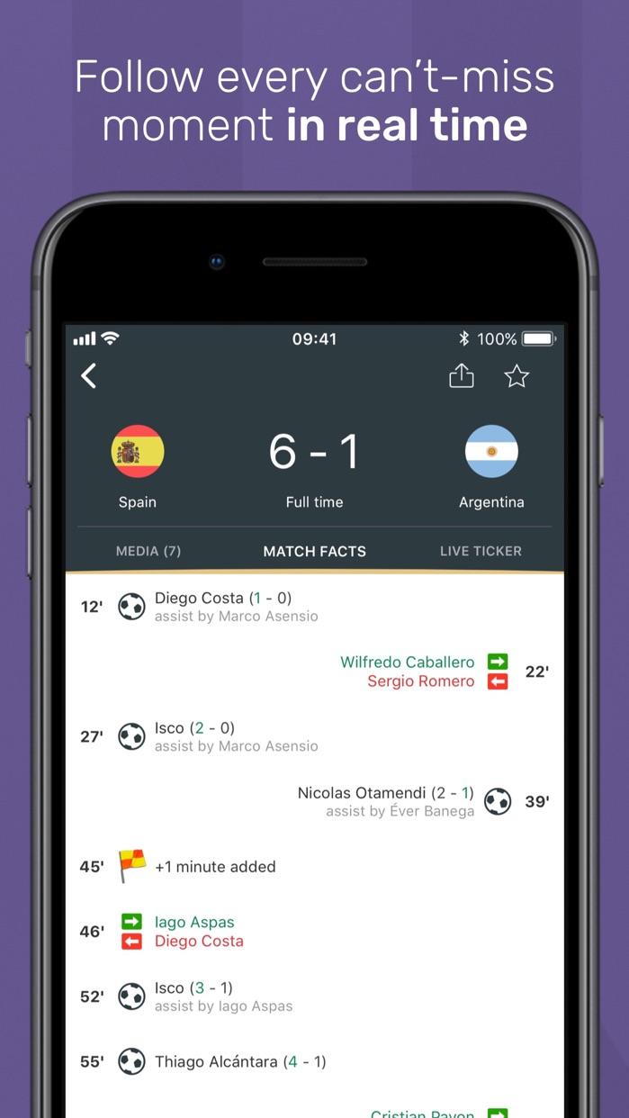 FotMob Live Soccer Scores Screenshot