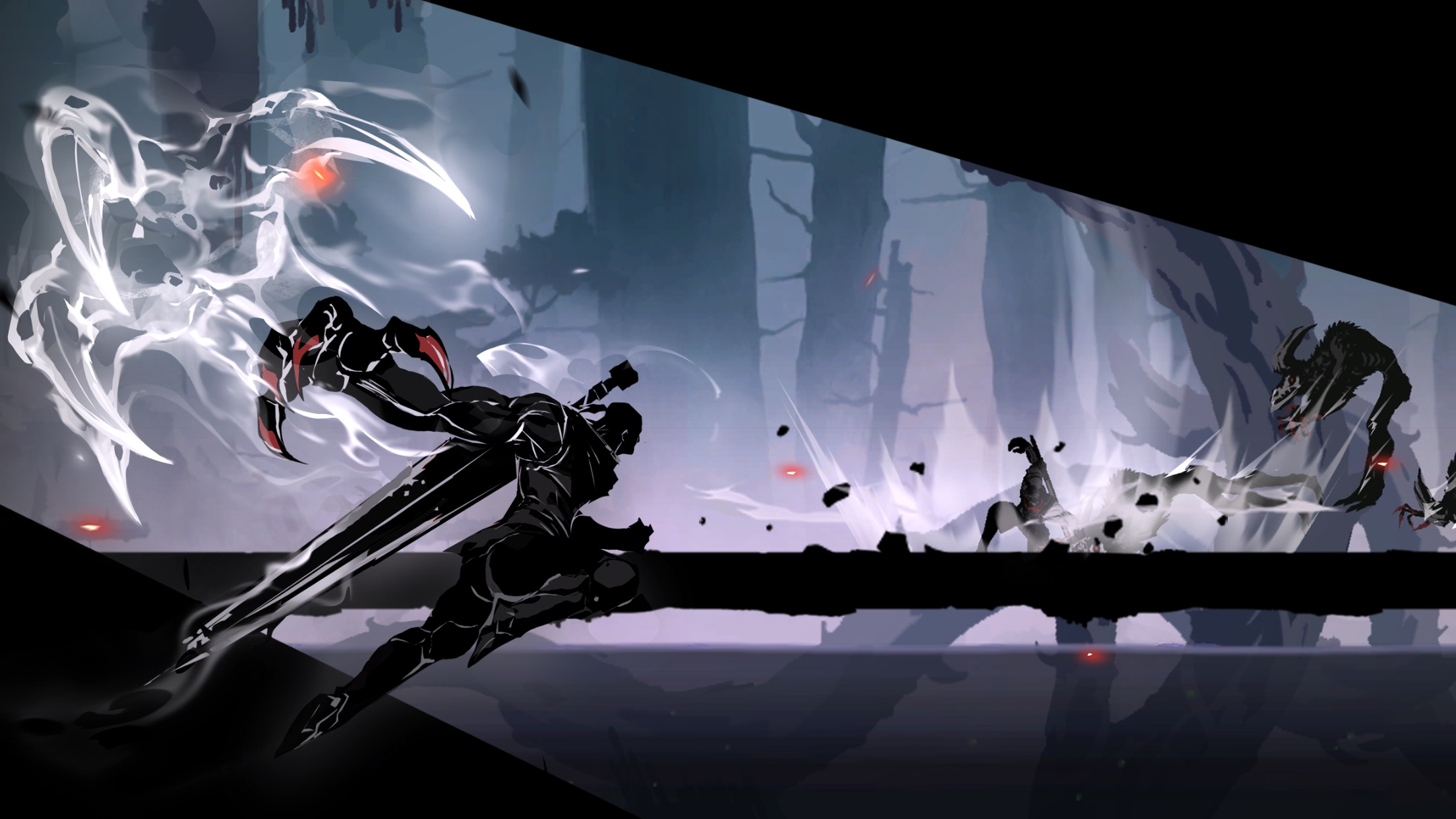 Screenshot do app Shadow of Death 2