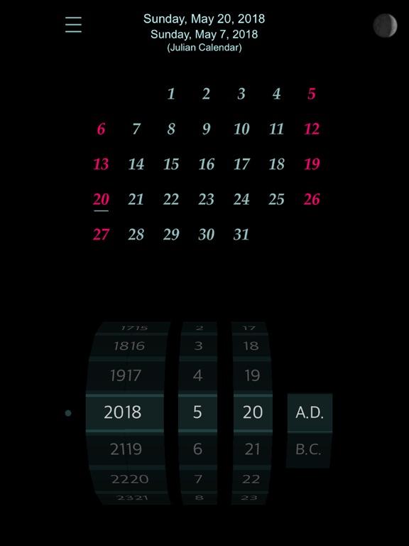 Calendar : 4500 BC to 4500 AD screenshot 17