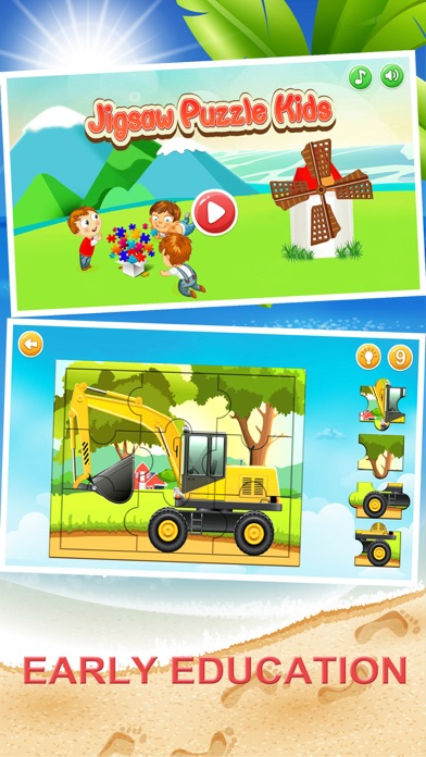 Jigsaw Puzzle Kids-Early Edu screenshot one
