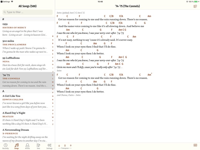 Song Book Pro on the App Store