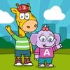 Zip and Abby speak math