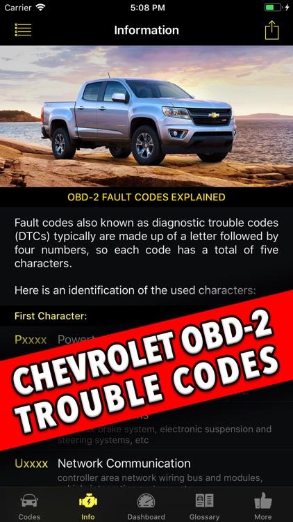 Diagnostic for Chevrolet screenshot-3
