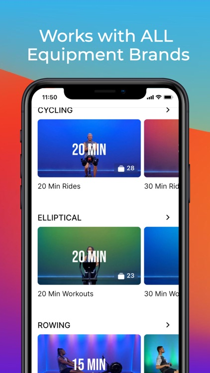 Fitscope: Elliptical & Cycling