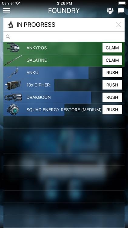 Warframe Companion screenshot-3