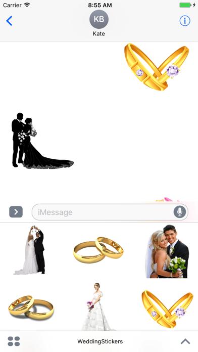 Wedding Stickers + screenshot one