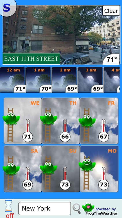 Weather Frog screenshot-3