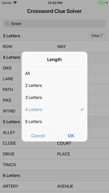 Crossword Clue Solver screenshot-4