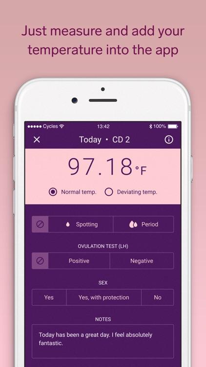Natural Cycles, Fertility app screenshot-3