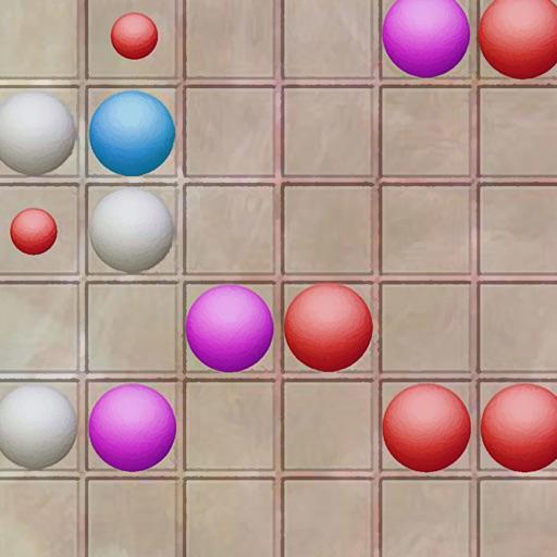 Color Balls - Lines
