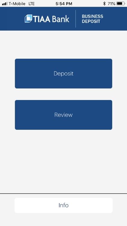 TIAA Bank Business Deposit