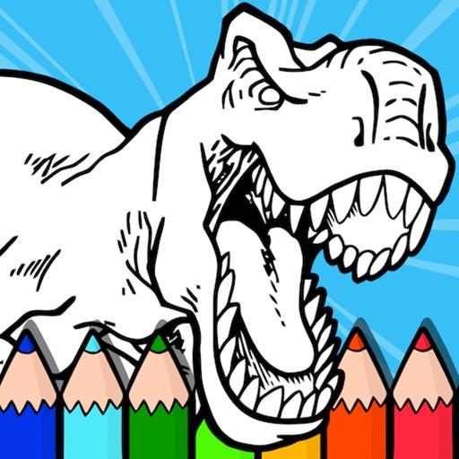 Coloring Dinos