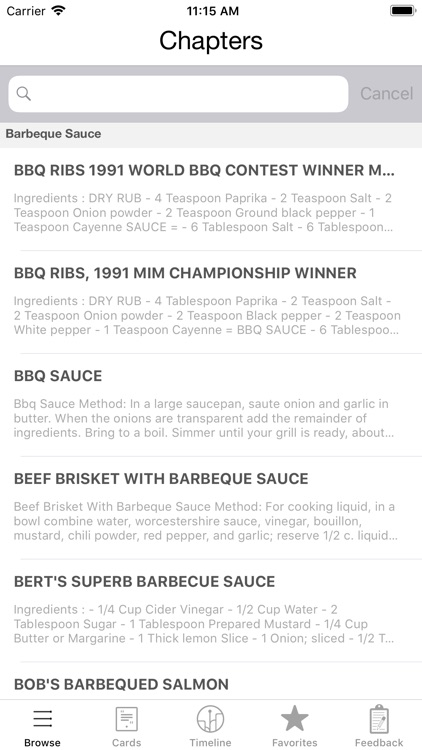 Barbeque Recipes screenshot-3