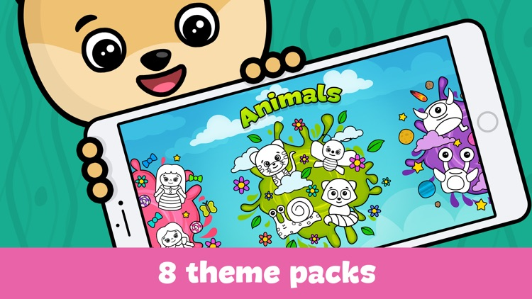 Baby coloring book for kids screenshot-3