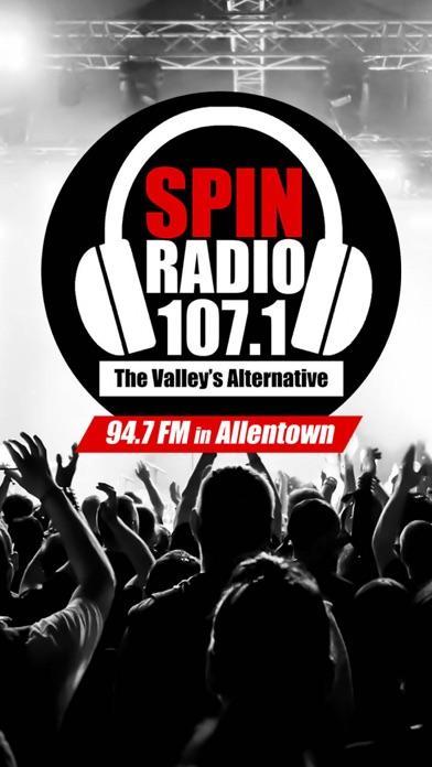 Spin Radio 107.1 screenshot one
