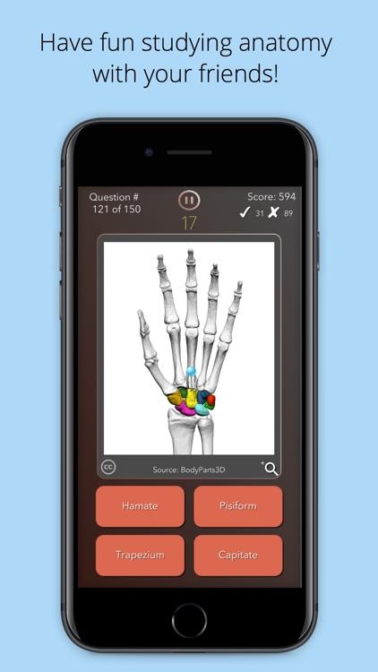 Anatomist – Anatomy Quiz Game screenshot-3