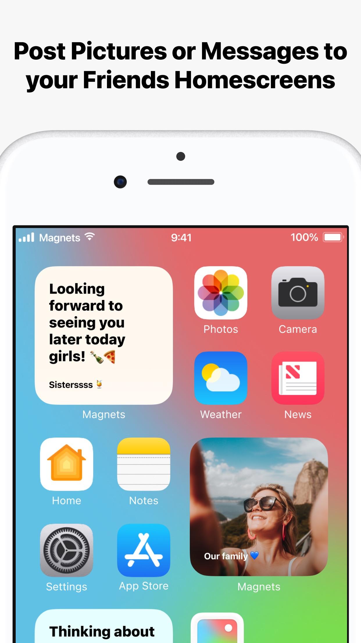 Screenshot do app Magnets - Shared Widgets