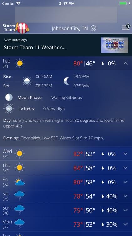 WJHL Weather App screenshot-3