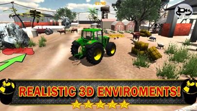 3Dファームトラクター駐車シミュレータのおすすめ画像2