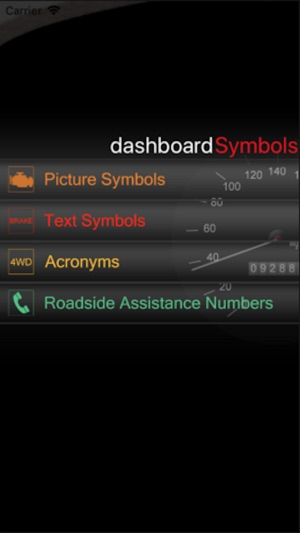 Dashboard Symbols on the App Store