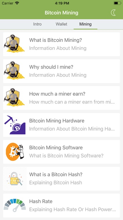Bitcoin Learn & Mine screenshot-6