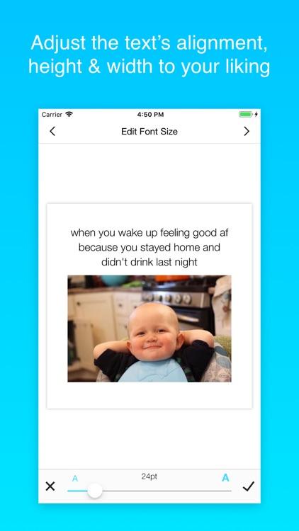 Memes Maker Pro Memeslay App screenshot-6