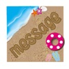 Messages On The Sand Sticker