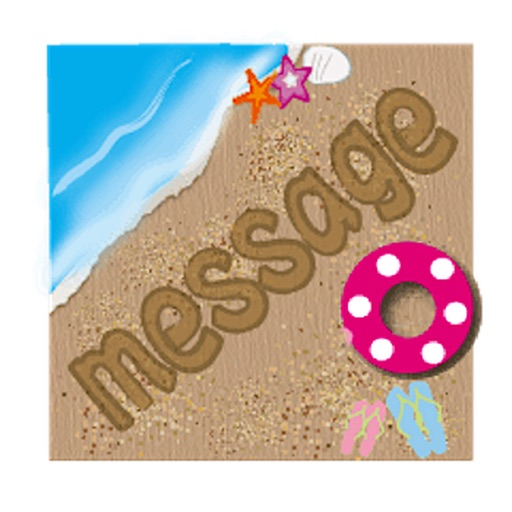 Messages On The Sand Sticker icon