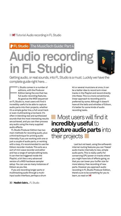 Music Tech Guide ... FL Studio screenshot-4