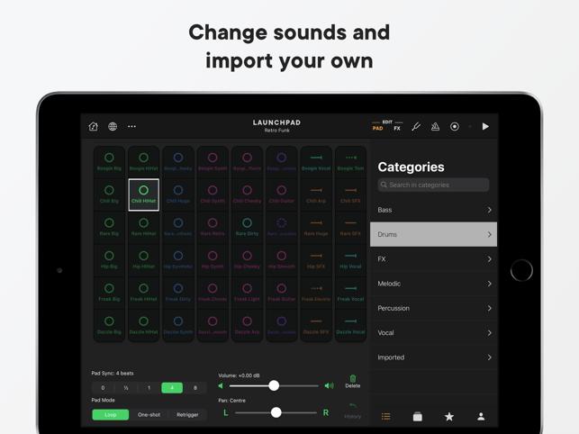 Launchpad: DJ with Novation Screenshot