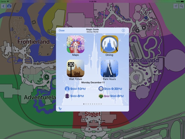 Magic guide for disney world on the app store magic guide for disney world on the app store gumiabroncs Images