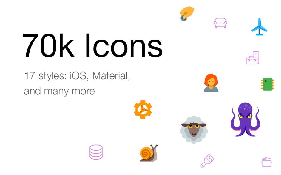 Icons8 Mac 破解版 图标素材大全-麦氪搜 下载