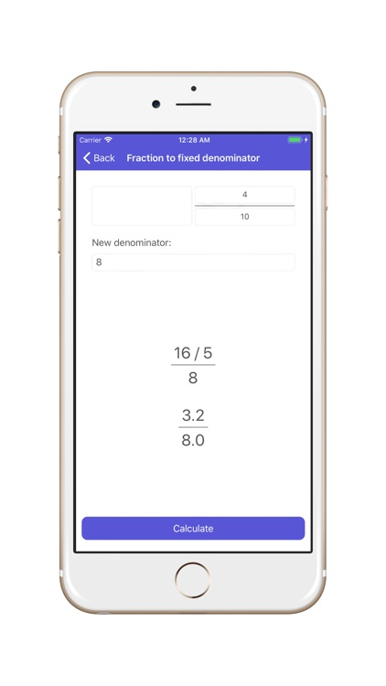 Fractions Converter & Calc screenshot-4