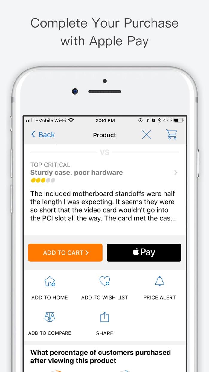 Newegg Mobile Screenshot