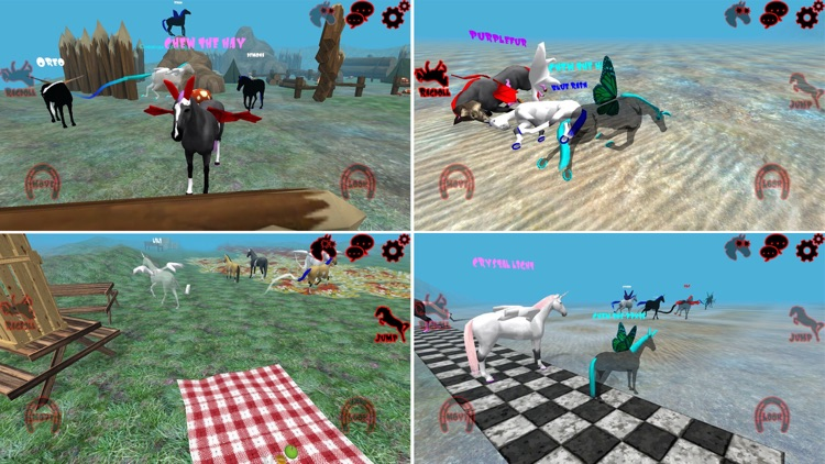 Hill Cliff Horse - Online screenshot-5