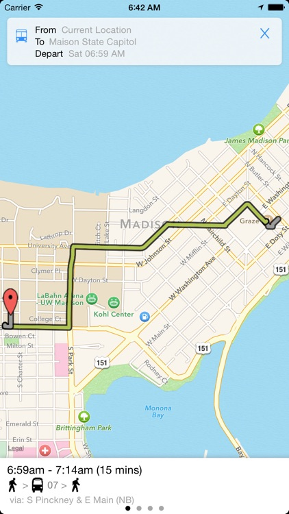 Transit Tracker - Madison screenshot-3