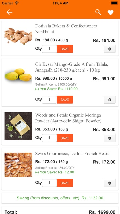 SaleBhai - Regional Food App screenshot-7