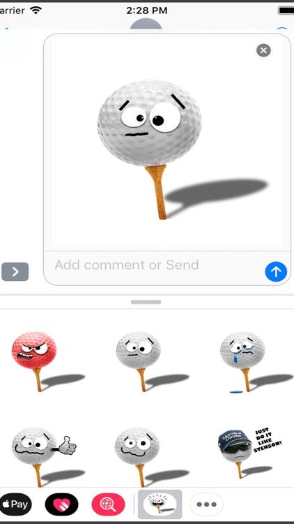 GolfEmojiFreeStickers