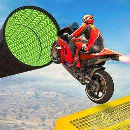 Mega Ramp Moto Bike Stunts Fun