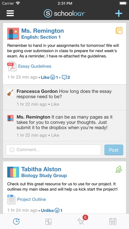 Schoology screenshot-0