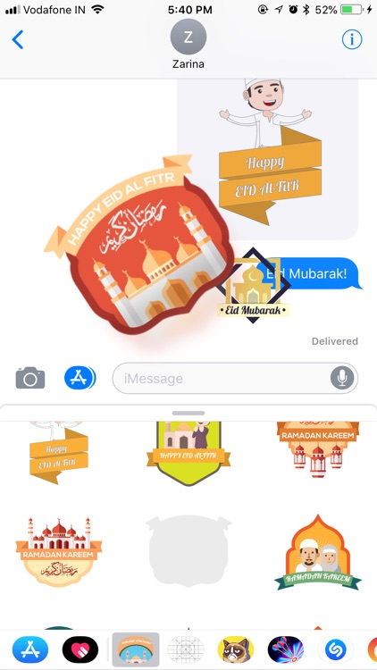 Islamic Stickers - Eid Sticker screenshot-1