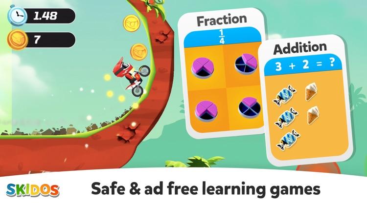 Cool Math Games: Kids Racing screenshot-3