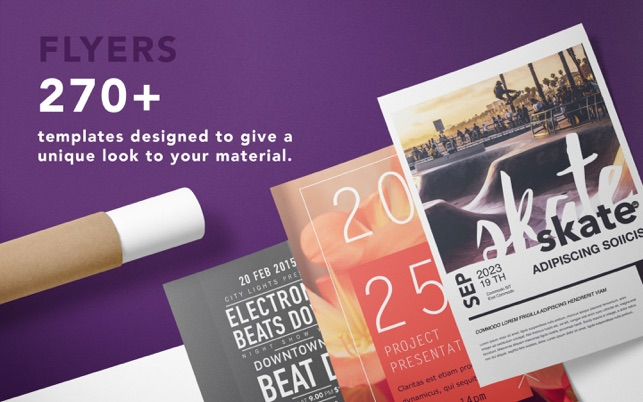 Flyer Design Templates On The Mac App Store